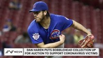 Dan Haren Supports Coronavirus Victims By Auctioning Bobbleheads