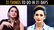 Huma Qureshi Suggests 21 Things To Do In 21 DaysActress Huma Qureshi who has worked in films like Jolly LLB 2 and Badlapur has shared a list of 21 things she will be doing in these 21 days. Check out the video and take some inspiration. #HumaQureshi #Quar