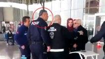 Yaşlı vatandaşa bağırıp üzerine yürüyen polis memuru görevden uzaklaştırıldı