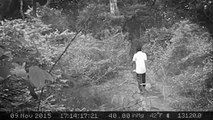 Real Ghost Attack CCTV Footage--- SCARY Screaming Ghost Face Caught On Tape