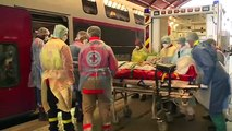 Un TGV médicalisé est mobilisé afin d'évacuer des patients atteints par le coronavirus