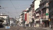 Le cœur de Mulhouse a cessé de battre depuis le début de l'épidémie