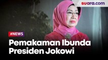 Pemakaman Sudjiatmi Notomihardjo, Ibunda Presiden Jokowi di Karanganyar