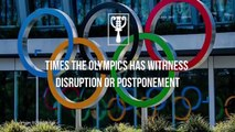 5 times the Olympics was disrupted