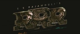 RRR Movie Teaser - Telugu | NTR, Ram Charan, Ajay Devgn, Alia Bhatt, Olivia Morris | SS Rajamouli
