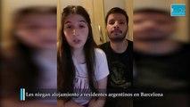 Por trabajar en un hospital, les niegan alojamiento a residentes argentinos en Barcelona