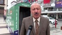 Türkiye'de bir ilk! Sokak ortasına dezenfeksiyon tüneli kuruldu