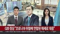 """[녹취구성] G20 정상 """"코로나19 위협에 연합된 태세로 대응"""""""