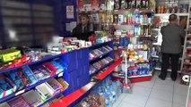 Bolu'da, Koronavirüs'a Karşı Asetat ve Bantla Önlem Aldı