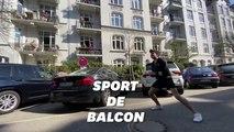 Ce prof de sport allemand donne son cours dans la rue pour les habitants