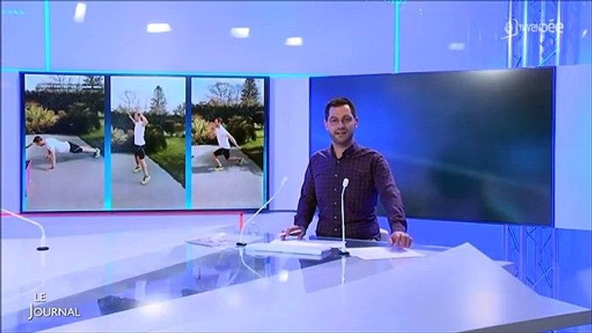Garde la Forme  avec ton AS et l'UNSS - Reportage de TV Vendée