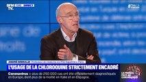 """Chloroquine: pour le Pr André Grimaldi, """"il y a une hypothèse sérieuse, elle doit être testée"""""""