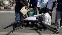 Indian city to use drones to disinfect crowded areas