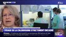 """Selon l'immunologiste Violaine Guérin, """"nous avons énormément de recul sur la chloroquine"""""""