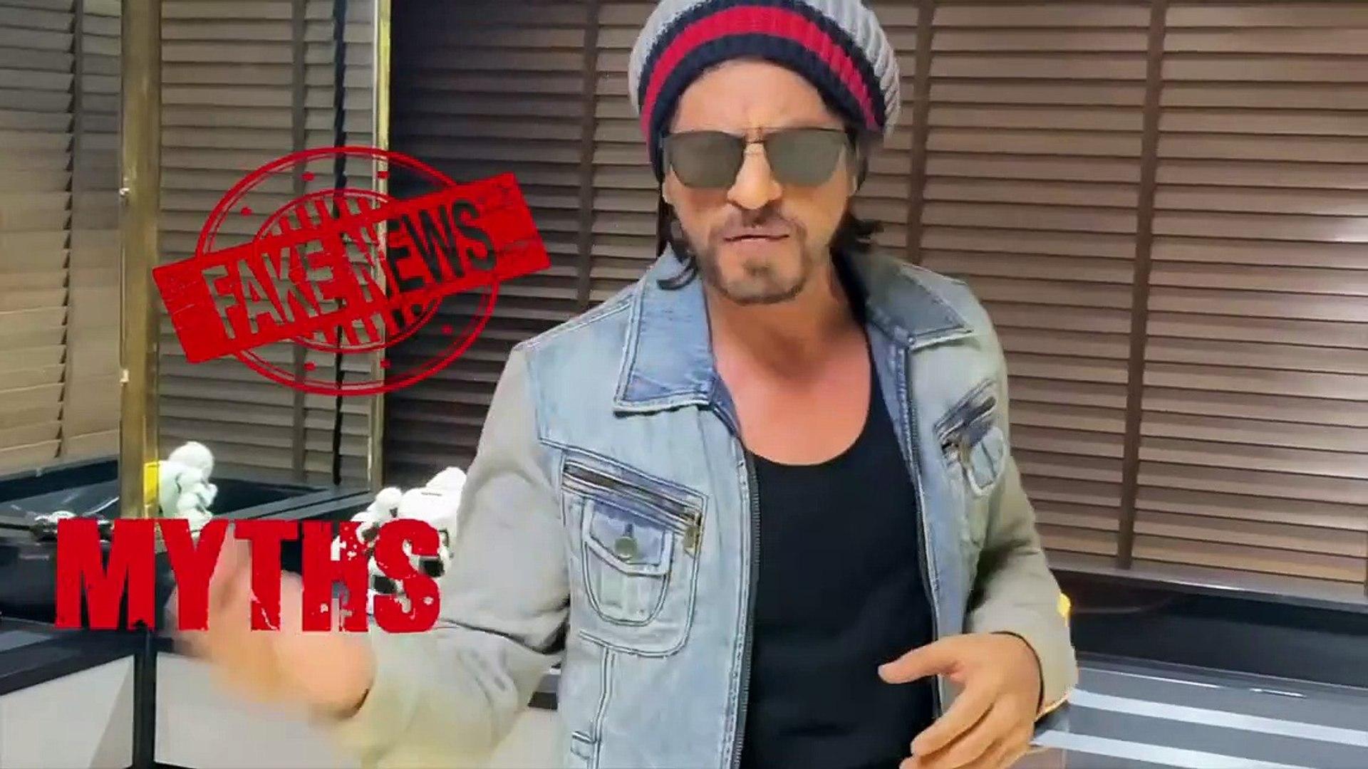 Corona virus New update from Shahrukh Khan India 21days lock down
