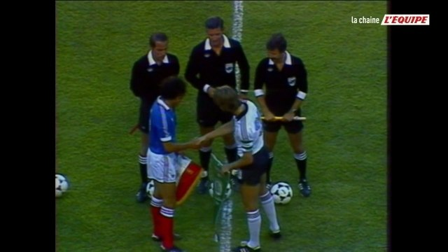 France - RFA (1982) - Foot - Replay