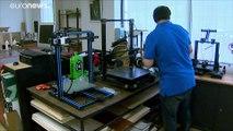 Coronavirus: Impresoras 3D frente a la escasez de material sanitario