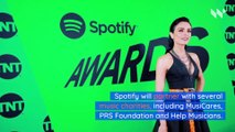 Spotify Announces COVID-19 Music Relief Project