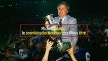 Michel Hidalgo, le premier sélectionneur des Bleus titré