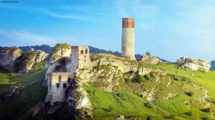 Reconstrucción digital del castillo de Olsztyn, POlonia