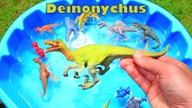 Learn Colors with Dinosaurs for Kids, Jurassic World Dinosaur Educational Video