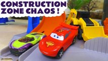Hot Wheels Chaos Challenge with Marvel Avengers 4 Thanos and Funny Funlings with Disney Cars 3 Lightning McQueen and PJ Masks in this Family Friendly Full Episode English