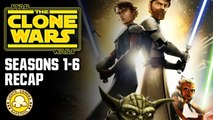 Recap Of All 6 Seasons Of Star Wars: The Clone Wars
