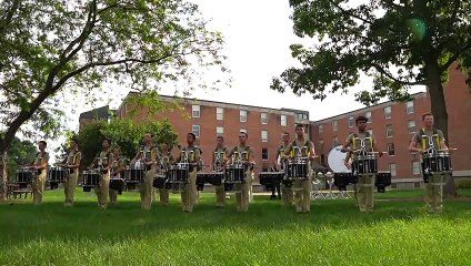In The Lot: Madison Scouts Battery Warm Up @ DCI Menomonie 2019