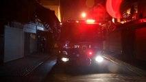 Manisa'da iş yeri yangını