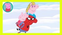 Peppa Pig Eating Lollipop New Episodes With Spiderman VENOM HULK Finger Family Nursery Rhymes Parody