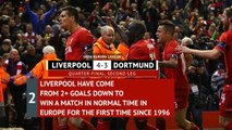 Flashback - Liverpool secure dramatic Anfield comeback against Dortmund