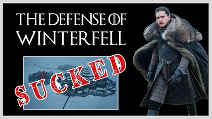 The Defense Of Winterfell Was Actually Bad