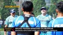 Antisipasi Corona, Skuad Persib Bandung Diliburkan