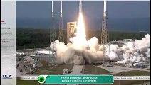 Força espacial americana coloca satélite em órbita