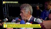 ¡Héctor Suárez se queda más de lo planeado en el hospital! Aquí las razones.   Ventaneando
