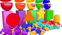 Learn Colors and Shape with Surprise Egg For Children Nursery Rhymes KID Song