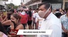 Peruanos demuestran su lado creativo con mascarillas caseras