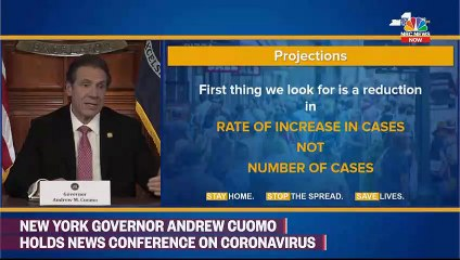 Gov. Cuomo Gives Update On Coronavirus Spread Across NY State