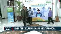 Jalani Tes Kedua Corona, Ridwan Kamil tetap Dinyatakan Negatif!