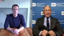 Watch Mark Zuckerberg and Dr. Anthony Fauci discuss COVID-19 pandemic
