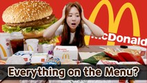 Korean Girls tried every menu at McDonald's in Malaysia [Everything on the menu EP01]