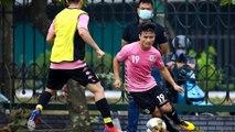 CLB Hà Nội tập cường độ cao để tăng sức đề kháng cho cầu thủ
