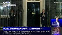 À Londres, Boris Johnson applaudit les soignants en première ligne face au coronavirus