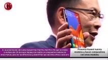 Presenta Huawei nuevos modelos y hacen comparativos con otros modelos