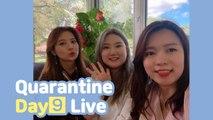 Quarantine Live Day 9! Blimey REUNION ㅠ^ㅠ