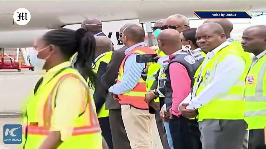 Kenya receives medical supplies from China's Jack Ma to fight COVID-19 pandemic