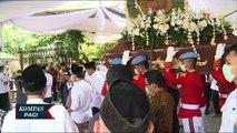 Seusai Pemakaman Ibundanya, Presiden Jokowi Langsung kembali Bertugas