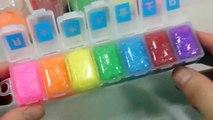 Edy Play Toys - Kids Learn Colors Glitter Slime Rainbow Clay Clay Colors Slime Crunchy Toys For Kids