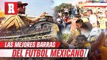 Las mejores barras del FUTBOL MEXICANO