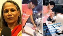 Siddharth Shukla का बनाया खाना खा कर बोली माँ, कहा बहुत Testy खाना है; Check Out |FilmiBeat